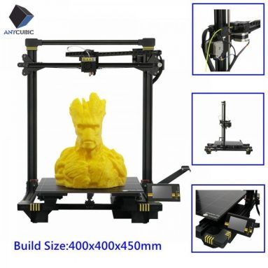€391 with coupon for ANYCUBIC Chiron 3D Printer Plus Size TFT Auto-leveling Printer 3d Titan Extruder Dual Z Axisolor CZ USA NOR RU CN WAREHOUSE from GEARBEST
