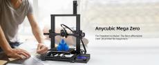 117 € z kuponem na drukarkę 3D Anycubic® MEGA ZERO 220x220x250mm Szybki start z wytłaczarką dwubiegową Łatwe poziomowanie z magazynu UE CZ BANGGOOD