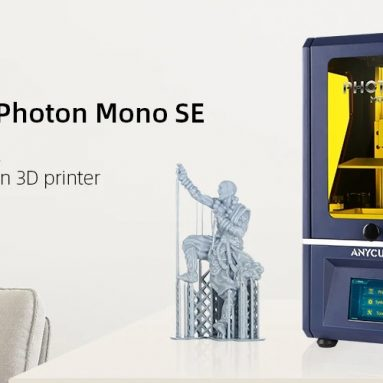 € 314 med kupon til Anycubic® Photon Mono SE LCD SLA UV-harpiks 3D-printer fra EU CZ-lager BANGGOOD