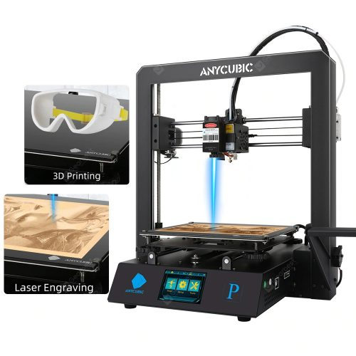 309 With Coupon For Anycubic 3d Printer Mega Pro Laser Engraving Printing 2 In 1 Metal Frame Fit Flexible Filament Anycubic Mega S Upgrade Dual Gear Extruder From Eu Cz Warehouse Gearbest China