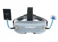 $224 with coupon for Aomway Commander Goggles V1 FPV 2D 3D 40CH 5.8G Support HD Port DVR Headtracker For RC Drone from BANGGOOD