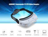 $269 with coupon for Aomway Commander V1 Goggles 2D 3D 40CH 5.8G FPV Glasses – BLUE GRAY from GearBest