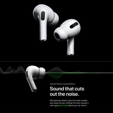 € 282 với phiếu giảm giá cho Apple AirPods Pro ANC Active Giảm tiếng ồn Tai nghe Bluetooth Tai nghe nhét tai chống nước IPX4 có đế sạc - Trắng từ GEARBEST