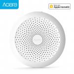 49 € s kupónom na bránu Aqara Hub Gateway s RGB LED nočným svetlom Smart Work with pre Apple Homekit a Aqara Smart App - Pridať zástrčku EÚ od GEARBEST