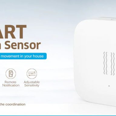 $8 with coupon for Aqara Smart Motion Sensor International Edition – WHITE from GearBest