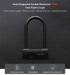 € 44 com cupom para impressão digital impermeável à prova d'água Areox Smart U-lock da Xiaomi youpin da BANGGOOD