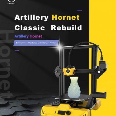 EU GER 창고 TOMTOP의 Artillery Hornet 고정밀 215D 프린터 쿠폰으로 € 3
