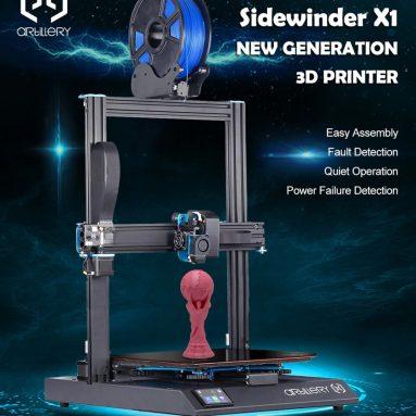 € 349 med kupon til Artillery (Evnovo) ® Sidewinder X1 3D printer fra BANGGOOD