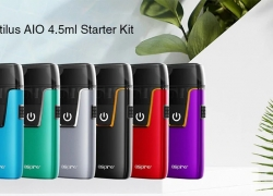 $28 with coupon for Aspire Nautilus AIO 4.5ml Starter Kit from Gearbest