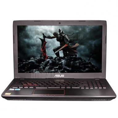 $799 flashsale for Asus ZX53VD7300 Gaming Laptop  –  BLACK from GearBest