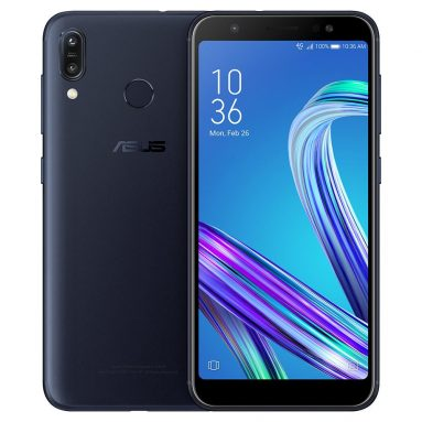 $108 with coupon for Asus ZenFone Max (M1) Global Version 5.5 Inch HD+ 4000mAh Face Unlock Andriod 8.0 3GB 32GB Snapdragon 430 4G Smartphone from BANGGOOD