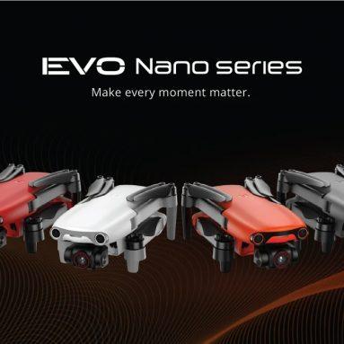 623 € avec coupon pour AutelRobotics EVO Nano Nano+ Series 249g 10KM FPV avec 1/1.28″ CMOS 50MP Caméra 3-Axis Gimbal 28mins Flight Time RC Drone Quadcopter RTF -Orange EVO Nano Version Standard de BANGGOOD