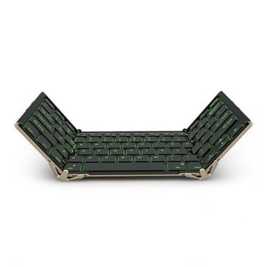 $ 5 av for BOW Foldable Keyboard fra Geekbuying