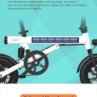 € 382 с купоном на BAICYCLE Smart 2.0 12-дюймовый складной электрический велосипед со склада EU GER TOMTOP