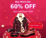 Buy More Get 60% OFF of Epic Markdown Sale from BANGGOOD TECHNOLOGY CO., LIMITED