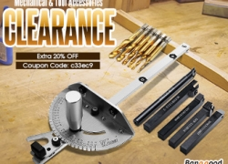 20% OFF Coupon for Mechanical & Tool Accessories from BANGGOOD TECHNOLOGY CO., LIMITED