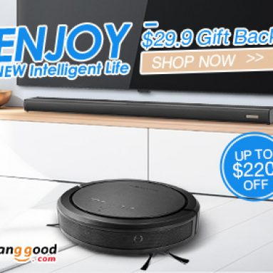 Over $100 Extra $29 Gift Back for BlitzWolf® BW Smart Home Products from BANGGOOD TECHNOLOGY CO., LIMITED