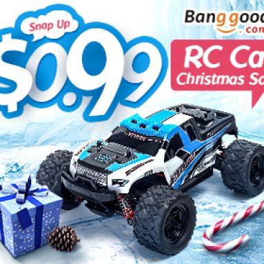 BANGGOOD TECHNOLOGY CO., LIMITED의 Rc 자동차 및 보트 크리스마스 판매를위한 최저 0.99