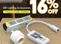 Big Promotion for LED Lighting Accessories from BANGGOOD TECHNOLOGY CO., LIMITED
