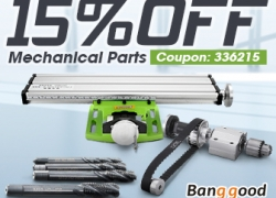 15% OFF Coupon for Mechanical Parts mula BANGGOOD TECHNOLOGY CO., LIMITED