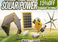 15% OFF Coupon for Solar Power Gadgets mula sa BANGGOOD TECHNOLOGY CO., LIMITED