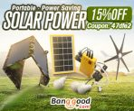 15% OFF Coupon for Solar Power Gadgets from BANGGOOD TECHNOLOGY CO., LIMITED