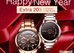 20% OFF for Watch Promotion from BANGGOOD TECHNOLOGY CO., LIMITED