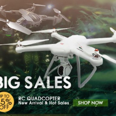 Up to 45% OFF Coupon for RC Quadcopter & Drone from BANGGOOD TECHNOLOGY CO., LIMITED