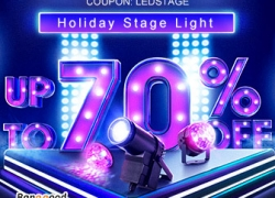 Up to 70% OFF for LED Holiday Party Stage Light Promotion from BANGGOOD TECHNOLOGY CO., LIMITED