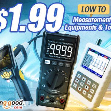 GIẢM GIÁ% cho các thiết bị và dụng cụ đo lường từ CÔNG TY TNHH CÔNG NGHỆ BANGGOOD