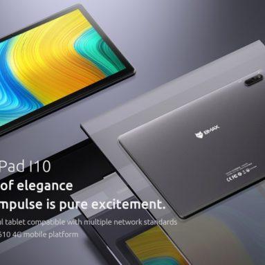 € 115 dengan kupon untuk BMAX MaxPad I10 UNISOC T610 Octa Core 4GB RAM 64GB ROM 4G LTE 10.1 Inch Android 10 Tablet dari BANGGOOD