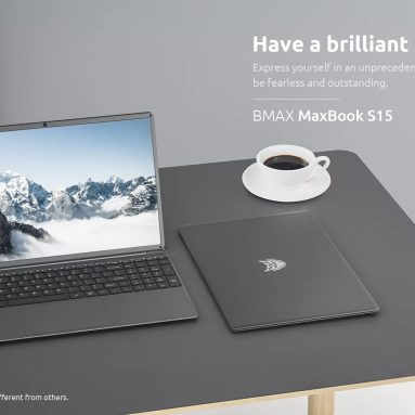 € 243 với phiếu giảm giá cho máy tính xách tay BMAX S15 15.6 inch Intel Gemini Lake N4100 Đồ họa Intel UHD 600 8GB LPDDR4 RAM 128GB SSD 178 ° Xem góc hẹp Máy tính xách tay từ BANGGOOD