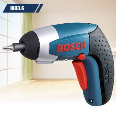 €79 with coupon for BOSCH IXO III Professional Cordless Electric Screwdriver 3.6V from GearBest