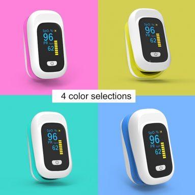 € 11 dengan kupon untuk BOXYM YK-80X Mini OLED Finger-Clamp Pulse Oximeter Home Heathy Blood Oxygen Saturation Monitor dari gudang EU CZ BANGGOOD