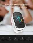 € 12 s kupónom pre BOXYM oFit-2 Pulzný oximeter s prstom, lekársky Finger Blood Oxygen Saturometro, prenosný pulzný oxymetr s monitorom srdca od spoločnosti BANGGOOD