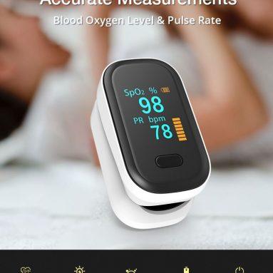 € 11 BOXYM oFit-2 için Parmak uçlu Kelepçe Pulse Oksimetre Medikal Parmak Kan Oksijen Saturometro Kalp De Oksimetre BANGGOOD'dan Taşınabilir Pulse Oksimetre Monitörü