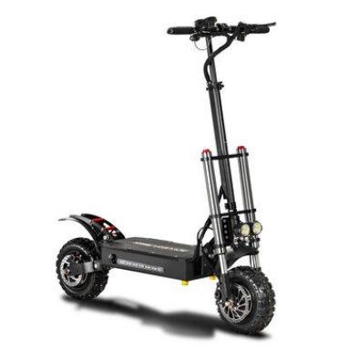 990 € med kupong for BOYUEDA 26AH 60V 5400W Dual Motor Folding Electric Scooter fra BANGGOOD