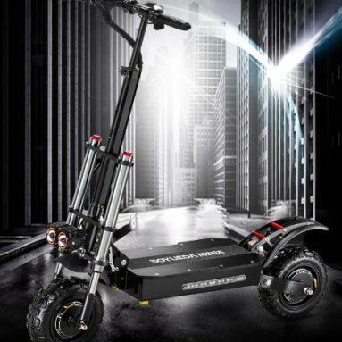 € 1049 BOYUEDA 28.6AH 60V 5600W के लिए कूपन के साथ दोहरी मोटर तह इलेक्ट्रिक स्कूटर