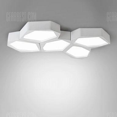 $ 99 con cupón para la forma de piedra de la luz del techo de adelgazamiento Stepless LED de BRELONG - 100 - 240V WHITE de GearBest