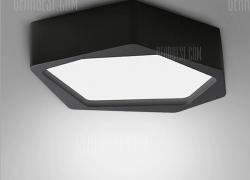 $39 flashsale for BRELONG LED Stepless Dimming Ceiling Light Stone Shape  –  180 – 240V  BLACK from GearBest