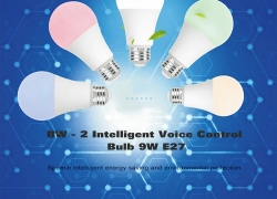 $9 with coupon for BW – 2 WIFI Intelligent Voice Control Bulb 9W E27 from GearBest