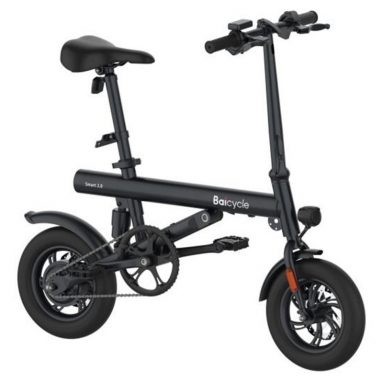 €409 with coupon for Baicycle 12 Inch Tire Mini Electric Foldable Bike from EU warehouse GEEKMAXI