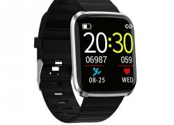 € 10 med kupon til Bakeey 116 Pro 1.3inch Large View Hjertefrekvens Blodtryksmåler Multisportsmetoder Smart Watch - Rød fra BANGGOOD