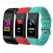 $9 with coupon for Bakeey B05 0.96 Inch TFT Color Display Smart Bracelet Heart Rate Blood Pressure Monitor Sport Watch – Black from BANGGOOD