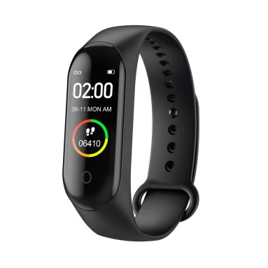 €9 with coupon for Bakeey M4 Max IPS Color Screen Wristband IP68 Blood Pressure O2 Long Standby Fitness Smart Watch from BANGGOOD