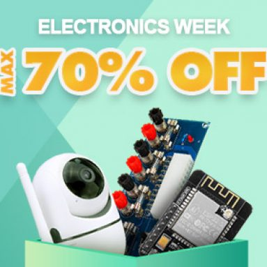 Max Up to 70% OFF Electronics Week Promotion from BANGGOOD TECHNOLOGY CO., LIMITED