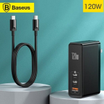 €46 with coupon for Baseus GaN2 Pro 120W Quick Charger Mini Dual Type-C + USB-A Power Adapter Power Socket from BANGGOOD