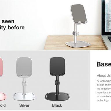 €8 with coupon for Baseus Metal Mobile Phone Stand Holder from GEARVITA