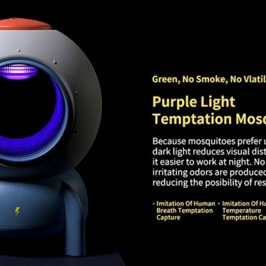 $23 with coupon for Bcase DSHJ – L – 007 Rocket Mosquito Killer Light from Xiaomi youpin from GEARBEST