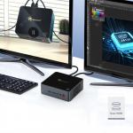 $215 with coupon for Beelink GK55 Windows10 Mini PC Gemini Lake-R J4125 Quad Core 8GB RAM 256GB SSD 2.4G+5G WIFI HDMI*2 RJ45*2 from GEEKBUYING